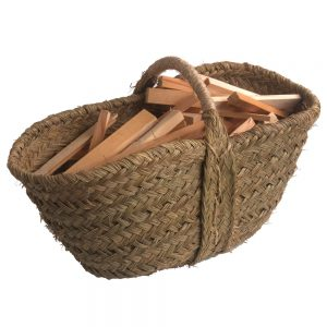 Esparto Kindling Basket