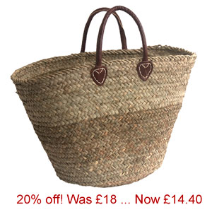 Offer-Round-bottomed Seagrass Basket
