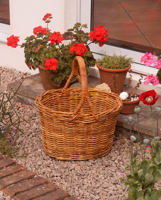 Rattan Shopping Baskets