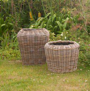 Rattan Planters