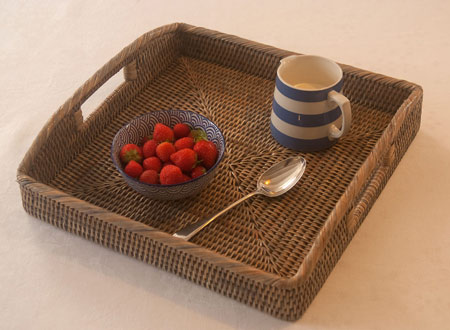 Wicker Tableware from Kosmopolitan
