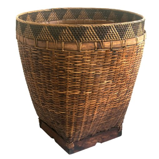 Large Bamboo Laundry Basket