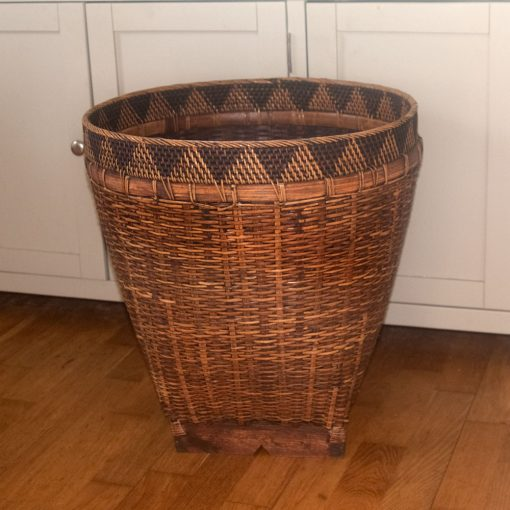 Large Bamboo Laundry Basket