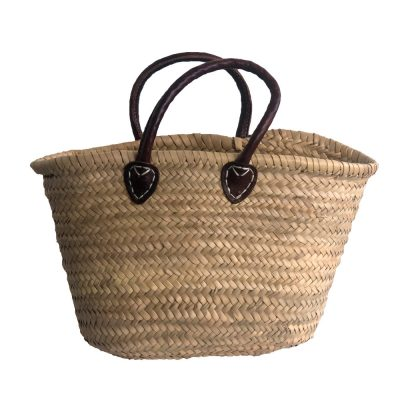 Small Short-handled French Market Shopping Basket