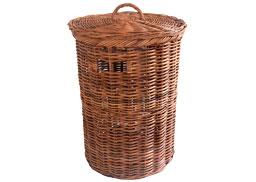 Round Lacak Linen Basket