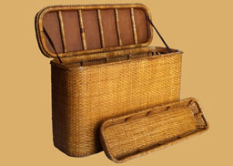 Rattan Storage Trunks from Kosmopolitan
