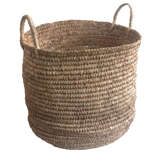 round agel grass storage basket