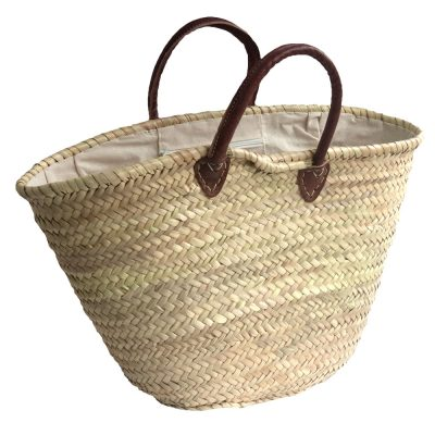 Lined Palm Shopper with zipped pocket