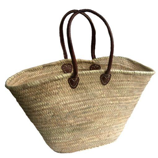 Half-shoulder Palm Shopping Basket
