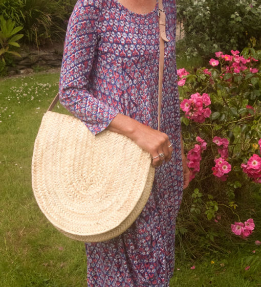 Satchel style French Market Basket