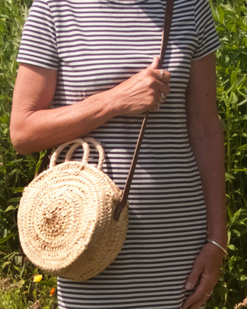 Small Round Palm Handbag