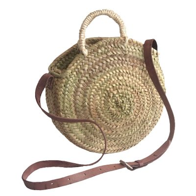 Small Round Palm Handbag
