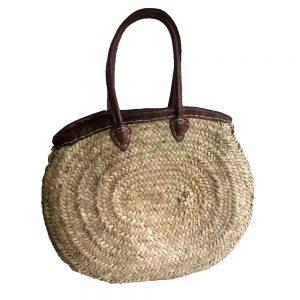 Oval Palm Market Basket