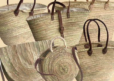 French Market Baskets from Kosmopolitan