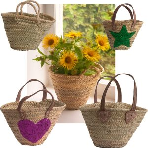 French Market Baskets for children