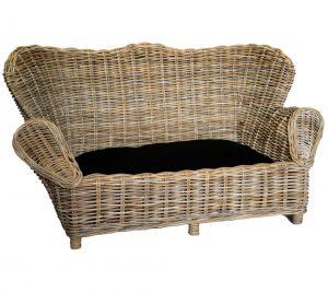 Large Wicker Pet Sofa
