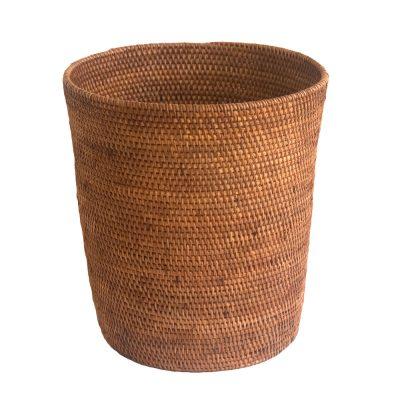 Ultra-fine Rattan Wastepaper Basket