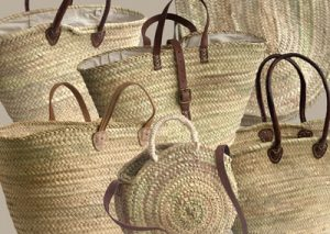 French Shopping Baskets from Kosmopolitan
