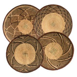 Decorative Wall Baskets from Zimbabwe