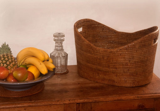 Fine Oval Storage Baskets lifestyle
