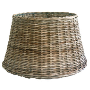 Large Round Grey Table or Floor Lampshade