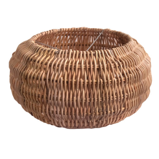 Large Round Rattan Pendant Lampshade