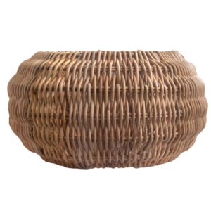 Round Shaped Rattan Pendant Lampshade in 2 Sizes