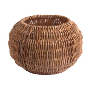 Small Round Shaped Rattan Pendant Lampshade view