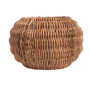 Small Round Shaped Rattan Pendant Lampshade