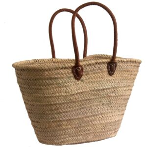 Half Shoulder Palm Shopping Basket