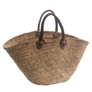 Rustic French Market Shopping Basket
