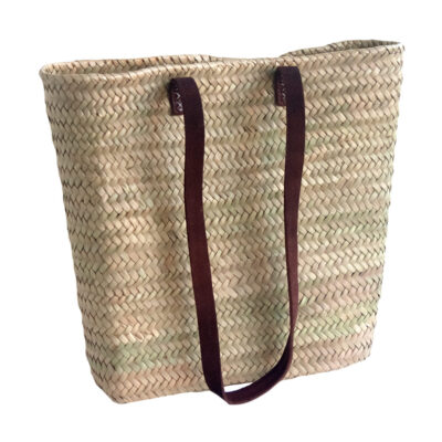 Slim Shoulder French Market Shopping Basket