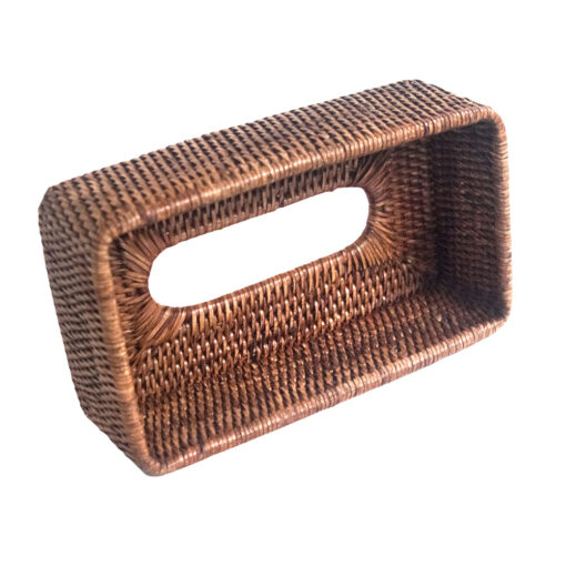 Rattan Tissue Box Holder