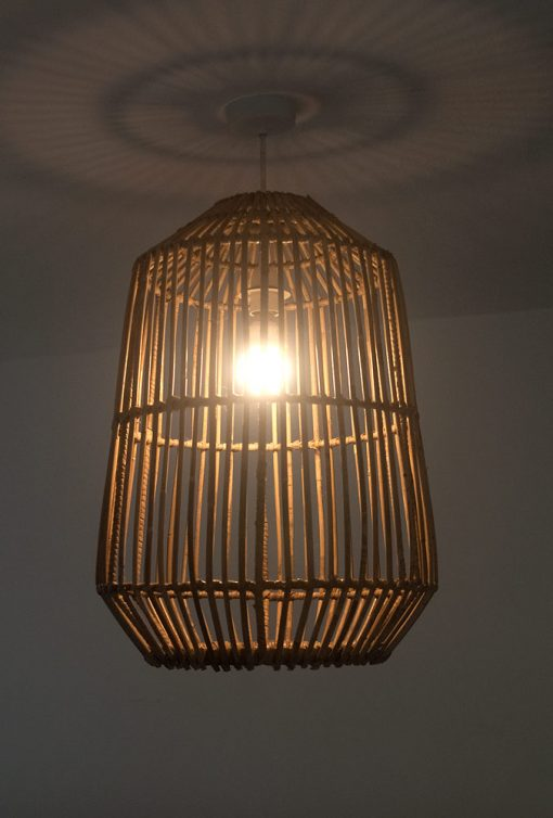 Tall Cylindrical Lampshade Alight