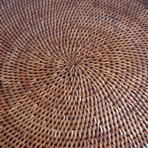 Round Drinks Tray weave